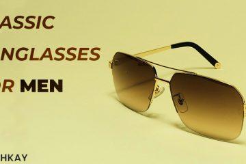 Classic sunglasses for men